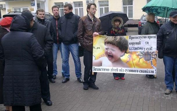 Мітинг на захист дитсадка  №183 по вул. Пушкінській 33а. Дерибан продовжується.
