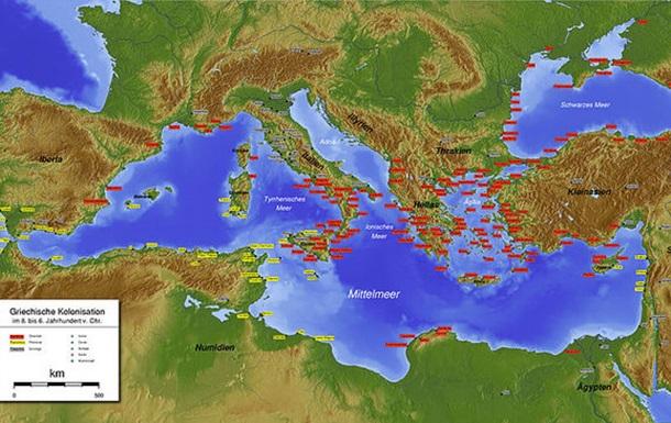 Грецькі колонії на Україні