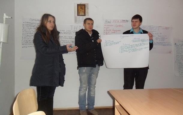 В Школі студентського самоврядування навчали як писати соціальні проекти