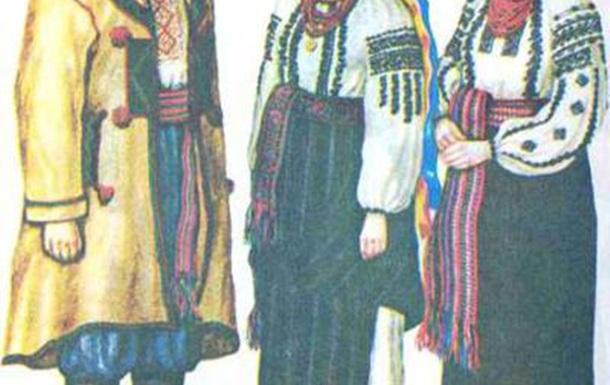 Народний одяг- це показник національної символіки.