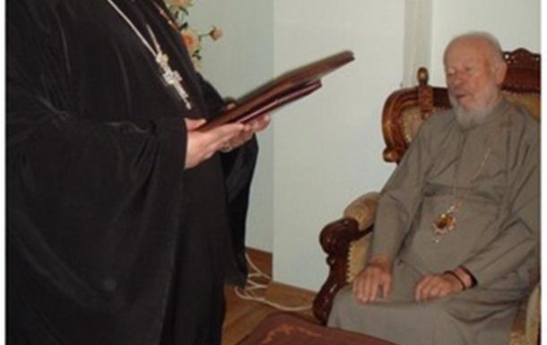Уполномоченный УПЦ МП отслужил на 9 мая молебен по бандеровцам