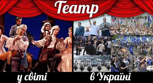 Революція чи театральна вистава?