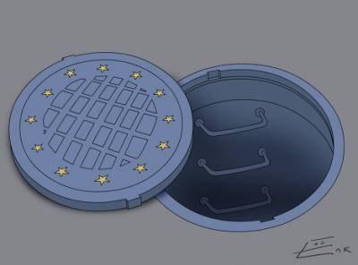 Украинский народ против политики Европейского Союза!