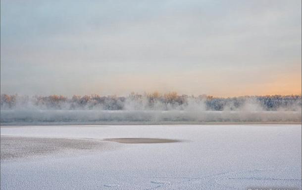 Путешествие на лыжах к озеру