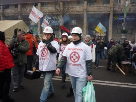 Вінницькі лікарі готові прийняти поранених з Майдану