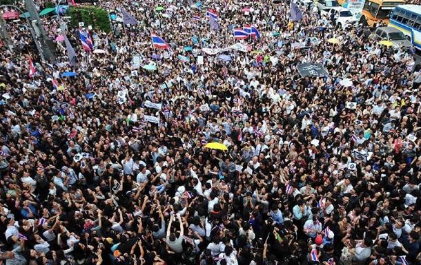 Антиправительственная демонстрация в Бангкоке может собрать до миллиона человек - СМИ