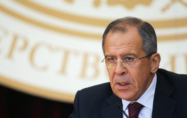 У России нет намерений пересекать границы Украины - глава МИД РФ