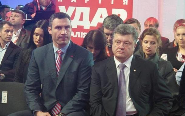Кличко и Порошенко подписали Декларацию единства