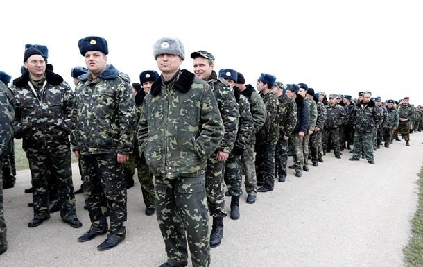Почти треть украинских военных в Крыму перешла на сторону России - замминистра обороны