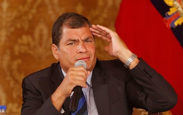 Мы не признаем правительство в Киеве – президент Эквадора