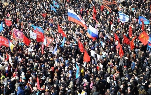 В Одессе одновременно проходят два крупных митинга