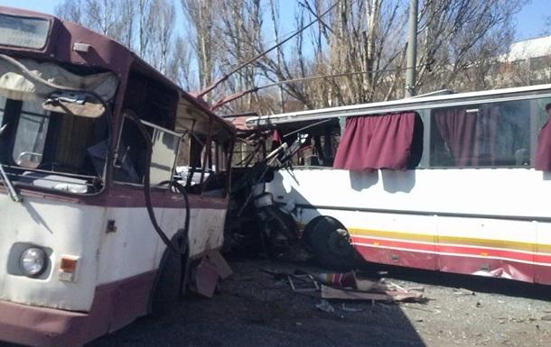 В Донецкой области столкнулись троллейбус и автобус: погибли пять человек