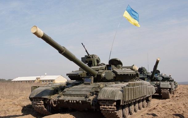 На Востоке Украины проходят военные учения Вооруженных сил Украины