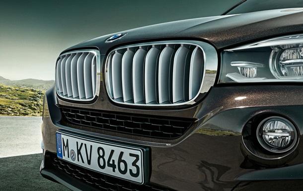 BMW выпустит большой внедорожник X7