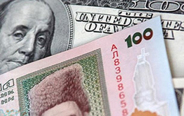 К закрытию межбанка курс гривны снизился до 11,42