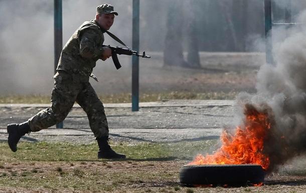 Служить народу Украины. Фоторепортаж с учений Нацгвардии