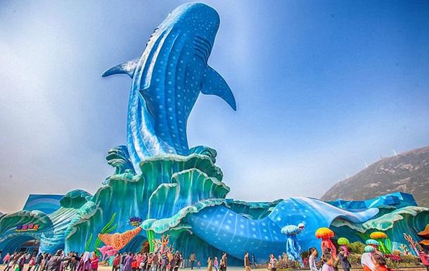 В Китае открылся самый большой в мире океанариум