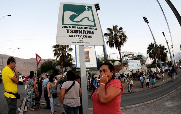 Из-за угрозы цунами в Чили эвакуированы 900 тысяч человек