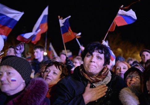 Воссоединение России и Крыма