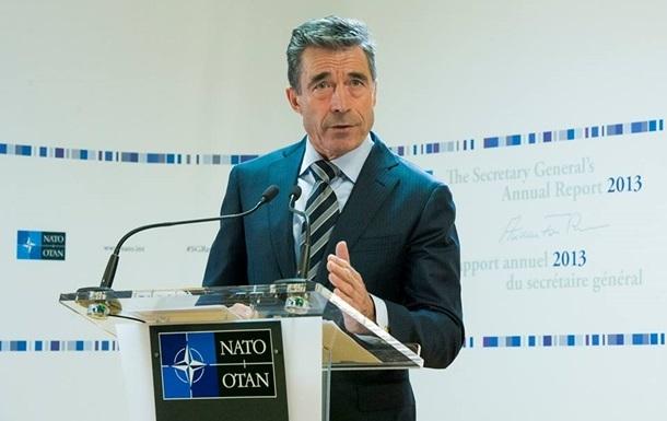 Говорить о плане действий для членства Грузии в НАТО рано - Расмуссен
