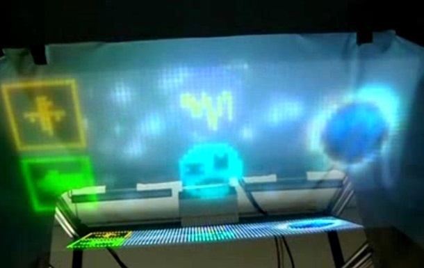 В Японии создали экран из воздуха
