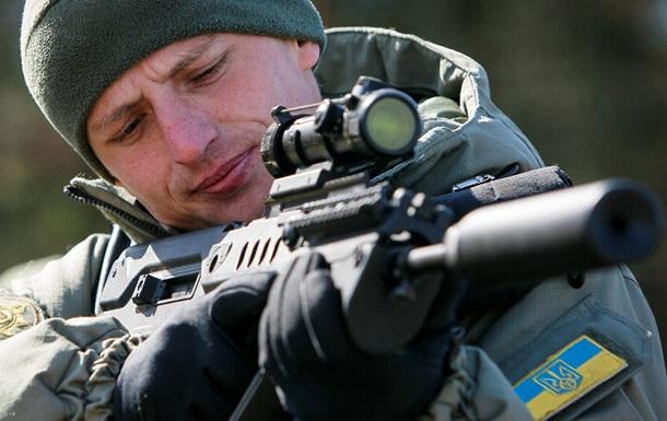 Новое оружие для украинской армии. Фото- и видеорепортажи с демонстрации на полигоне Десна