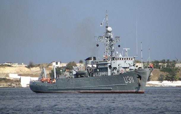 Экипаж морского тральщика Черкассы 4 апреля возвращается на материк