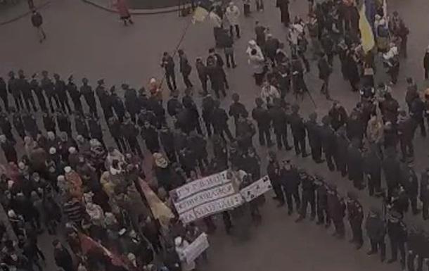 Милиция предупреждает о провокациях на митинге под Одесским горсоветом
