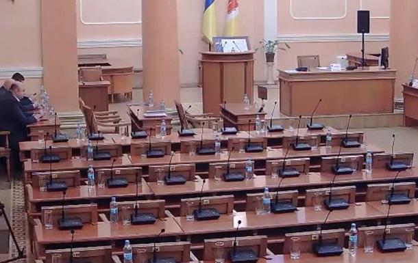 Сессия Одесского горсовета закрылась, не успев начаться