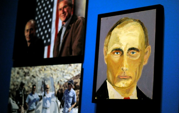 Джордж Буш-младший увлекся живописью и нарисовал Путина