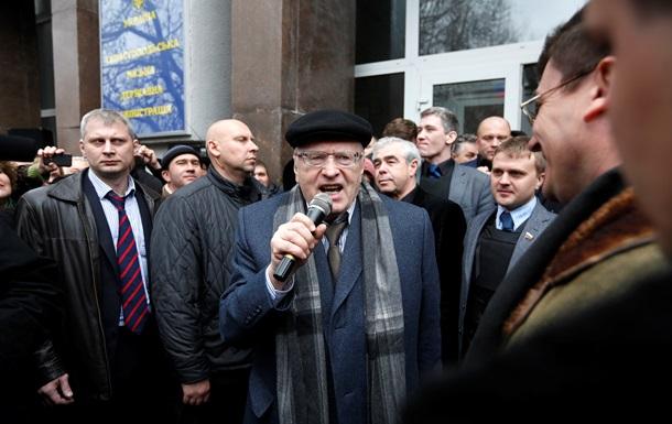 Блогозрение: Империя наносит ответный удар, или Жириновский против  Макдоналдса