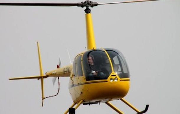 Офицер запаса на собственном вертолете помогает охранять границу Украины