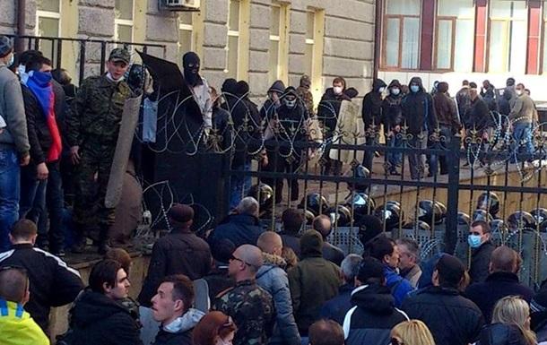 Милиция начала  расследование по факту захвата Донецкой ОГА
