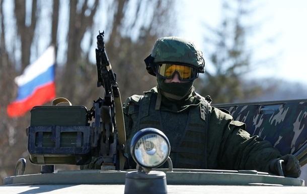 В Крыму находятся около 22 тысяч российских военных – МИД Украины