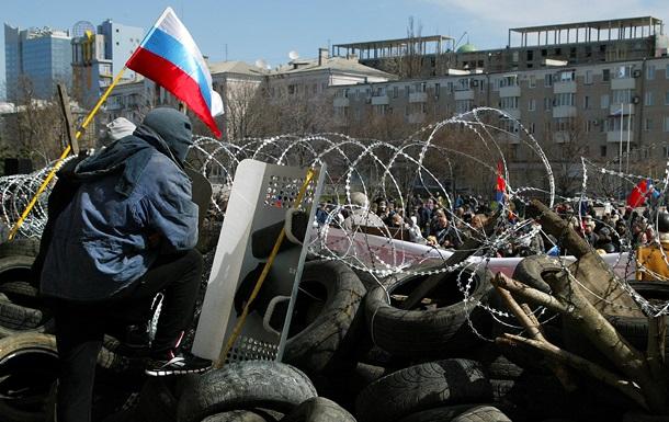 Донецкая милиция просит мирных граждан отойти от здания захваченной ОГА