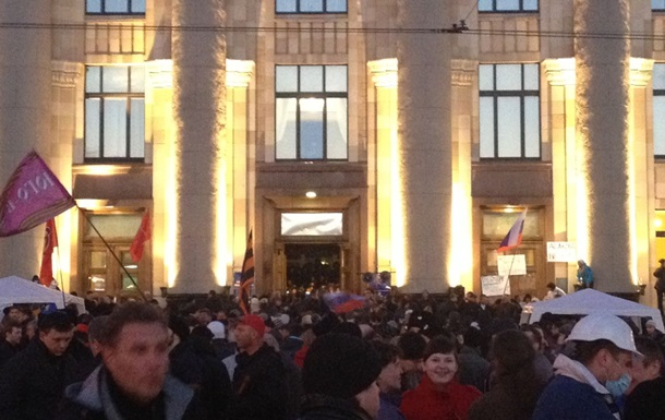 В Харькове объявили о создании народной республики