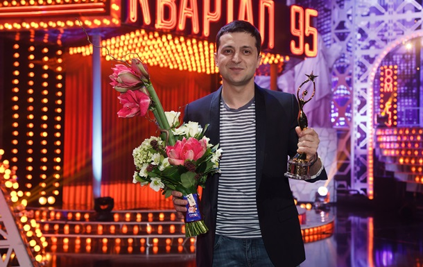 Владимир Зеленский получил почетную Телезвезду