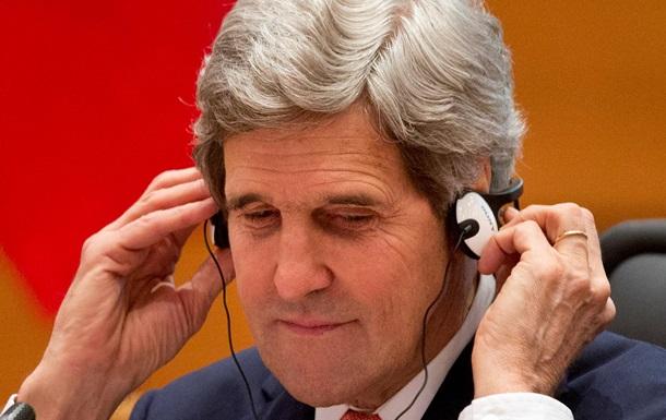 Керри пригрозил Москве новыми экономическими санкциями