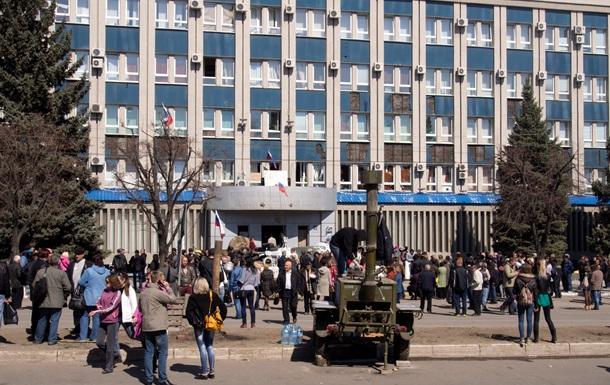 Луганские протестующие: у нас не было никаких заложников