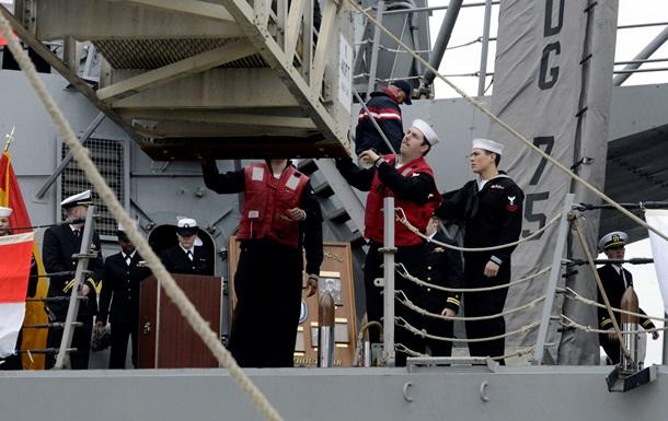 Эсминец ВМС США Donald Cook войдет в Черное море в ближайшие сутки – CNN