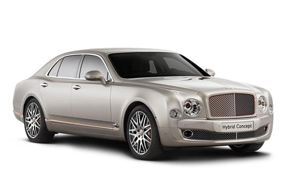Экологическая роскошь. Bentley выпустил первый гибрид