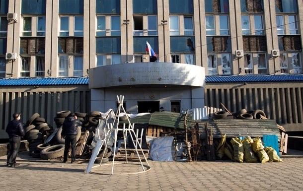 Власти Луганска требуют отменить антитеррористическую операцию против митингующих