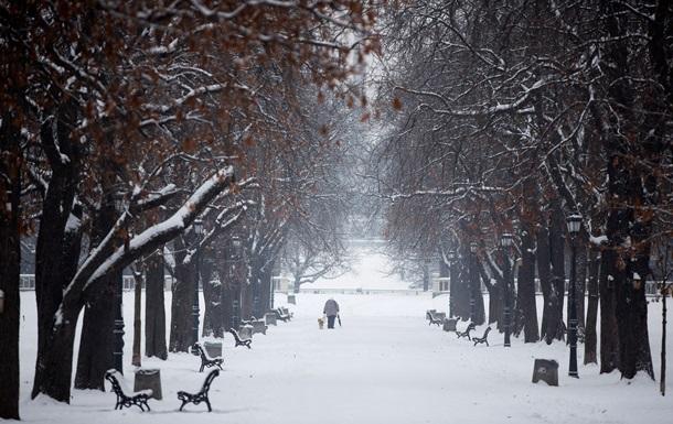 В Болгарии резко похолодало и выпал снег