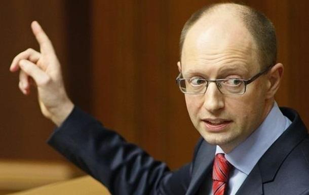 Яценюк в Донецке заверил, что власть не будет ограничивать русский язык