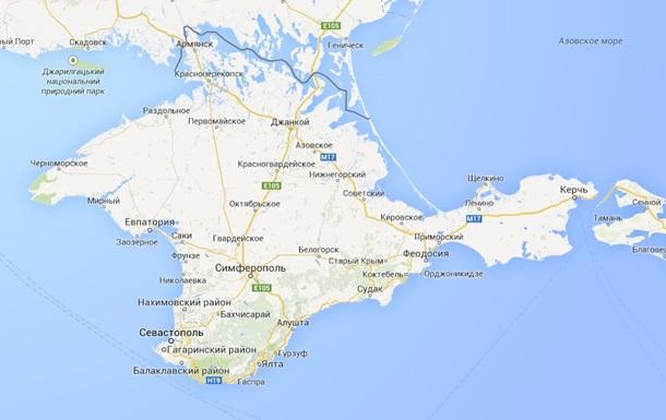 Российсий офис Google признал Крым Российский территорией