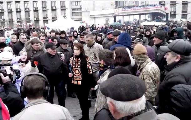Телеведущую Аллу Мазур прогнали в Донецке