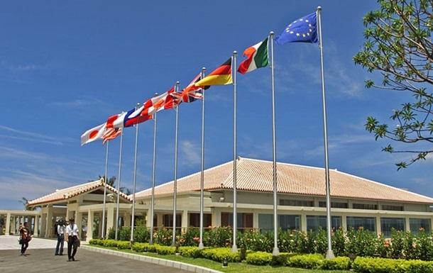 Страны G7 допускают расширение санкций против РФ