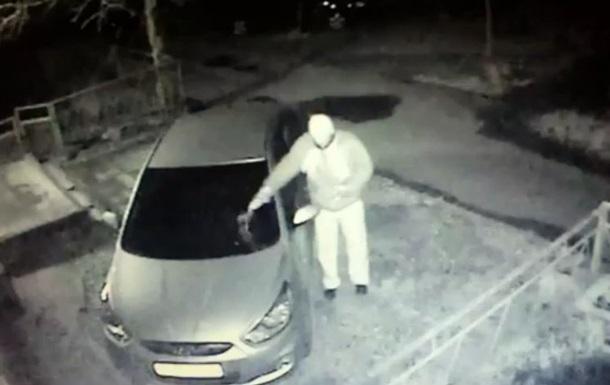 В Донецке подожгли машину главного редактора интернет-издания Новости Донбасса