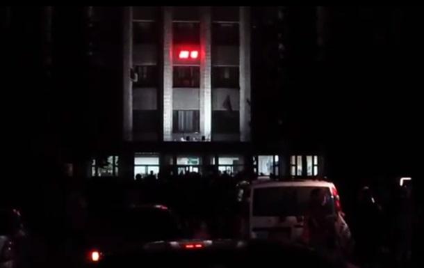 В Харцызске Донецкой области захвачена мэрия