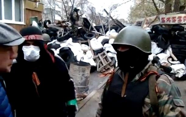 Видеосюжет о ситуации в Донецкой области